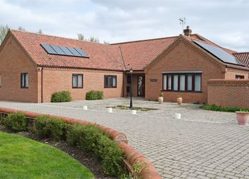 Thumbnail 4 bed detached bungalow for sale in Church Road, Yelverton, Norwich, Norfolk