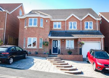 Thumbnail 6 bed detached house for sale in Fircroft Court, Loftus, Saltburn-By-The-Sea