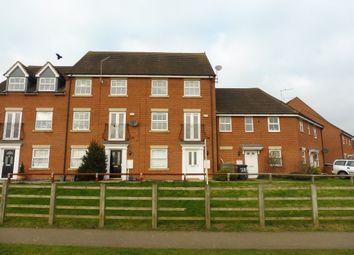 Thumbnail 4 bed town house for sale in Romulus Close, Wootton, Northampton