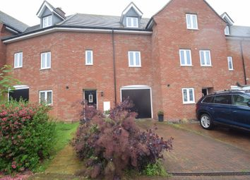 Thumbnail 3 bedroom town house for sale in Tempest Crescent, Shortstown, Bedford