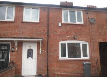 Thumbnail 3 bedroom terraced house to rent in Ascot Road, Manchester