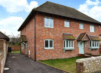 Thumbnail 2 bedroom semi-detached house for sale in Church Street, Amberley, Arundel, West Sussex