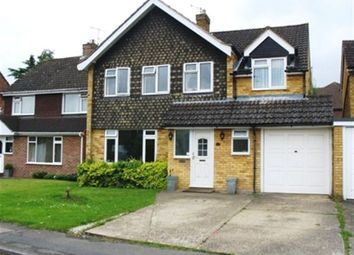 Thumbnail 4 bed detached house to rent in Southbourne Drive, Bourne End, Buckinghamshire
