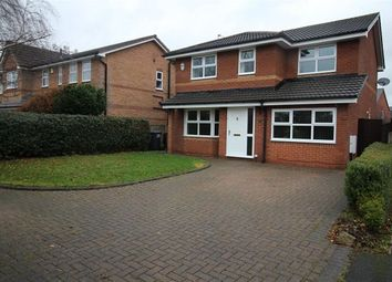 Thumbnail 4 bed detached house to rent in Beeston Close, Middlewich