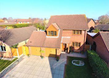 Thumbnail 4 bedroom detached house for sale in Blackthorn Close, Newton, Preston, Lancashire