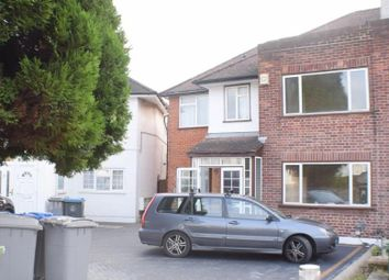 Thumbnail 6 bed semi-detached house to rent in Branksome Way, Kenton, London