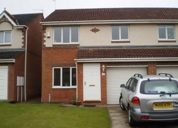 Thumbnail 3 bed semi-detached house to rent in Duxford Grove, Faverdale, Darlington