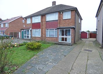 Thumbnail 3 bed semi-detached house for sale in Thorogood Way, Rainham, Essex