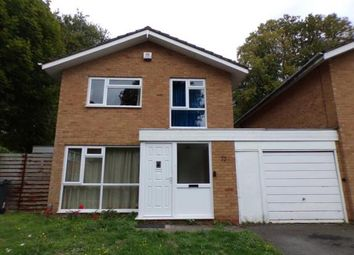 Thumbnail 3 bed detached house for sale in Christchurch Close, Birmingham, West Midlands