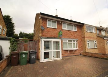 Thumbnail 3 bed semi-detached house for sale in Dovedale Road, Thurmaston, Leicester