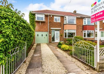Thumbnail 4 bed semi-detached house for sale in Warde Aldam Crescent, Wickersley, Rotherham