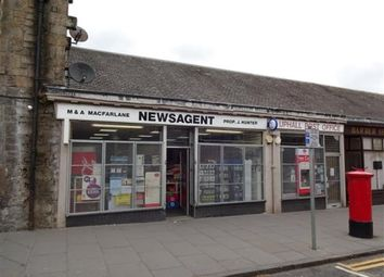 Thumbnail Retail premises for sale in Broxburn, West Lothian