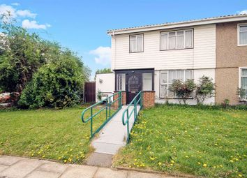 Thumbnail 3 bed semi-detached house for sale in Fisher Close, Greenford
