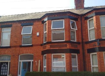Thumbnail 3 bedroom terraced house to rent in Berbice Road, Mossley Hill Liverpool