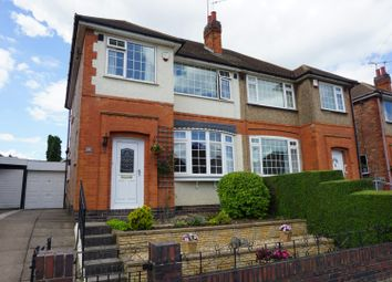 Thumbnail 3 bed semi-detached house for sale in Wiltshire Road, Leicester