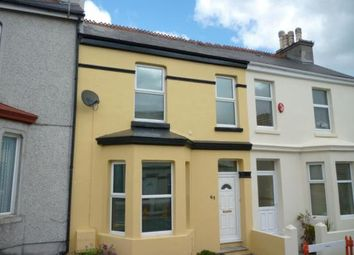 Thumbnail 2 bedroom terraced house to rent in Desborough Road, Plymouth