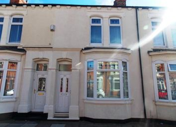 Thumbnail 3 bedroom terraced house for sale in Abingdon Road, Middlesbrough, North Yorkshire
