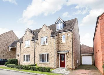 Thumbnail 4 bedroom semi-detached house for sale in Cooks Way, Biggleswade, Bedfordshire, .