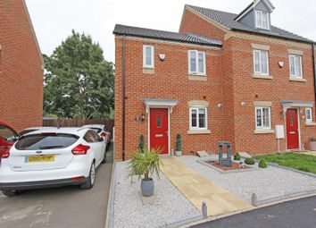 Thumbnail 2 bed semi-detached house for sale in Thirsk Close, Bourne