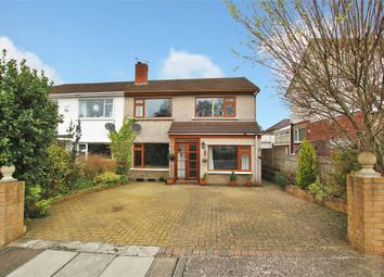 Thumbnail 3 bed semi-detached house for sale in Nant-Fawr Crescent, Cyncoed, Cardiff