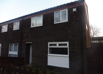 Thumbnail 3 bed end terrace house to rent in Doxford Walk, Hemlington, Middlesbrough