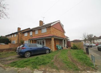 Thumbnail 4 bed end terrace house for sale in Aragon Drive, Ilford