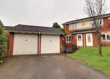 Thumbnail 2 bed semi-detached house for sale in Emanuel Close, Caerphilly