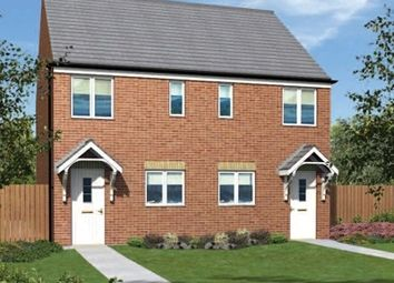 "Thumbnail 2 bed end terrace house for sale in ""The Moulton"" at Front Street, Fleming Field, Shotton Colliery, Durham"