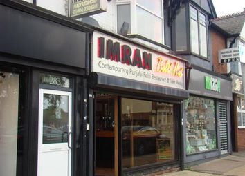 Thumbnail Commercial property for sale in Imran Balti Hut, 285 Wellingborough Road, Northampton