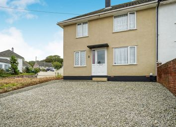 Thumbnail 3 bed end terrace house for sale in Hawthorn Close, Hooe, Plymouth