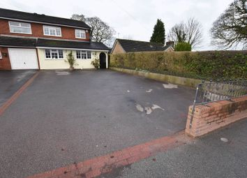 Thumbnail 3 bed semi-detached house for sale in Brook Street, Congleton