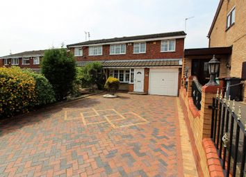 Thumbnail 4 bedroom semi-detached house for sale in Western Close, Walsall