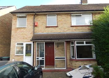 Thumbnail 4 bed semi-detached house to rent in Cades Close, Luton