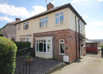Thumbnail 3 bed semi-detached house for sale in Rutland Avenue, Bolsover, Chesterfield