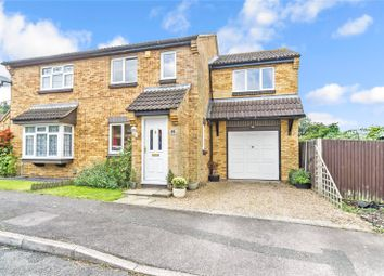 Thumbnail 3 bed semi-detached house for sale in Setford Road, Lords Wood, Kent