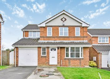 Thumbnail 4 bed detached house for sale in Telford Close, High Shincliffe, Durham, Durham