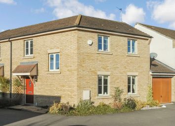 Thumbnail 3 bed semi-detached house for sale in Normangate, Ailsworth, Peterborough