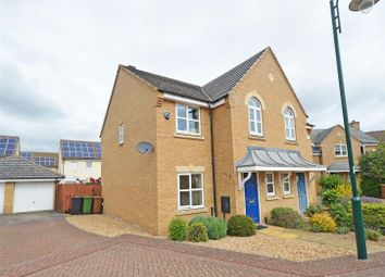 Thumbnail 3 bed semi-detached house for sale in Hornbeam Road, Hampton Hargate, Peterborough