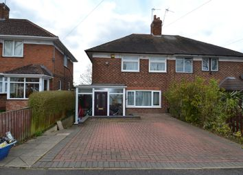 Thumbnail 2 bed semi-detached house to rent in Jervoise Road, Weoley Castle, Birmingham