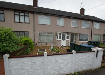 Thumbnail 3 bed terraced house for sale in Selworthy Road, Coventry