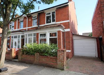 Thumbnail 3 bed semi-detached house for sale in Torrington Road, North End, Portsmouth, Hampshire