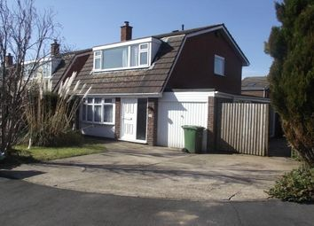 Thumbnail 3 bed link-detached house to rent in Birchfield Close, Wood End, Atherstone