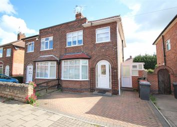 Thumbnail 3 bed semi-detached house for sale in Beech Avenue, Beeston Rylands, Nottingham