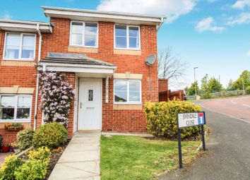 Thumbnail 2 bed end terrace house for sale in Swindale Close, Blaydon-On-Tyne