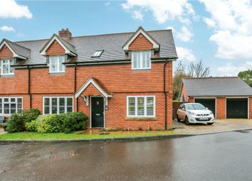 4 bed semi-detached house for sale in Casbrook Field, Upper Timsbury, Romsey, Hampshire SO51