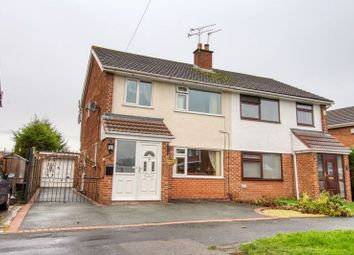 Thumbnail 3 bed semi-detached house for sale in Knottingley Drive, Great Sutton, Ellesmere Port