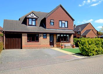 Thumbnail 4 bed detached house to rent in Devoil Close, Burpham, Guildford