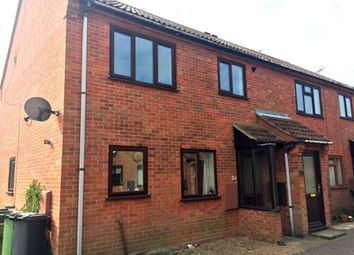 Thumbnail 2 bedroom flat to rent in Hamilton Close, North Walsham