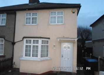 Thumbnail 3 bed semi-detached house to rent in Anglesey Road, Enfield