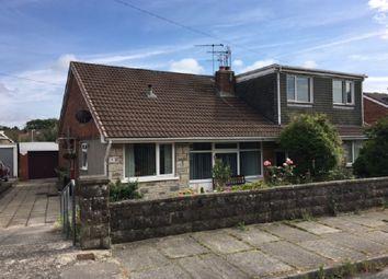 Thumbnail 3 bed semi-detached house for sale in Bryn Rhedyn, Pencoed, Bridgend.